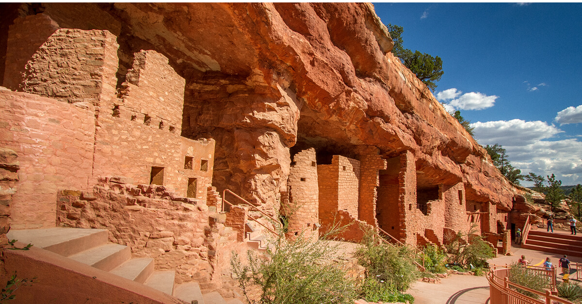 Manitou Cliff Dwellings Manitou Springs Co