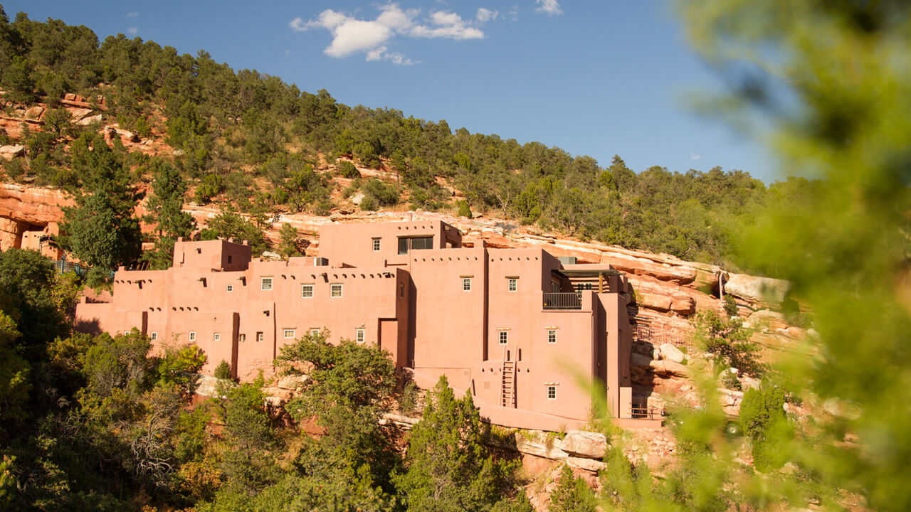 Pueblo At The Manitou Cliff Dwellings